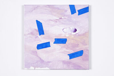 Eric LoPresti, 'Crater And Blue Tapes', 2019