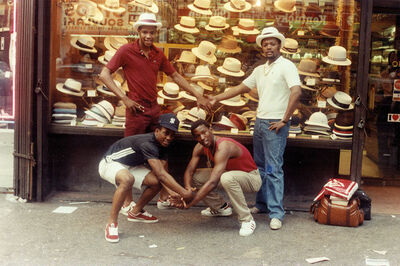 Jamel Shabazz, 'Street Photographers of Times Square & Sights in the City: New York Street Photographs Book', 1982
