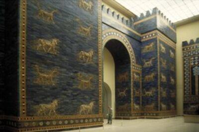 'Ishtar Gate, Babylon (restored)', ca. 575 B.C.