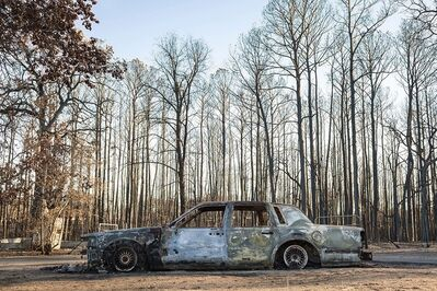 Carolyn Monastra, 'Car Burned by Wildfire', 2011