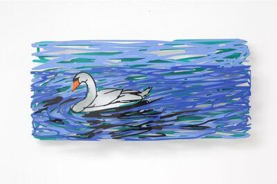 David Gerstein, 'Swimming swan', 2011