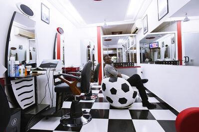 Andrew Esiebo, 'Barbers, Accra #7', 2012