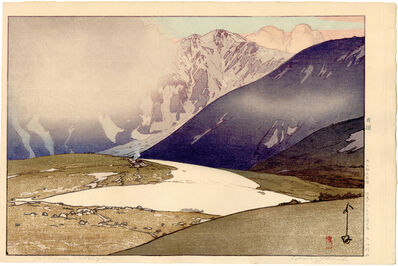 Yoshida Hiroshi, 'Tateyama Betsuzan from the Japan Alps Series', 1926