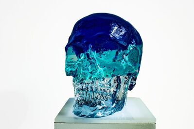 Sam Tufnell, 'Blue Crystal Skull', 2018