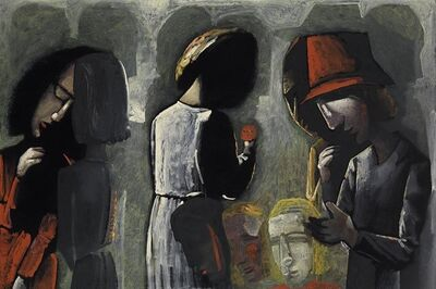 Charles Blackman, 'Dreaming in the Street', 0000