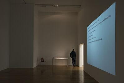 Dora García, 'Narrativa instantánea (Instant Narrative)', 2006