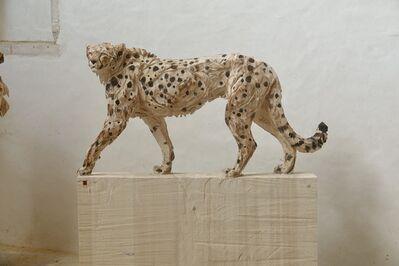 Jürgen Lingl-Rebetez, 'Walking Cheetah', 2020