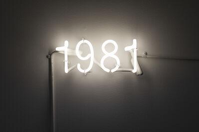Maya Stovall, '1981 (1526 NASDAQ:FAANG), no. 31', 2019
