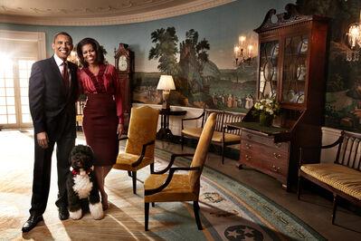 Art Streiber, 'President Barack Obama & Michele Obama', 2011