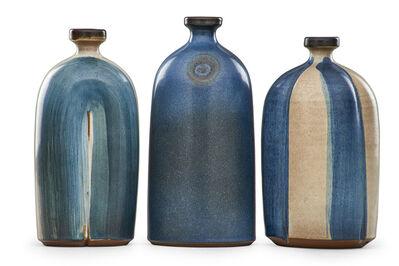 Rupert J. Deese, 'Three bottle-shaped vases, Claremont, CA'