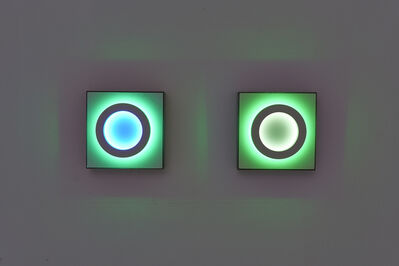 Erwin Redl, 'Reflections v2, Ring Structure (two panels, East wall)', 2019
