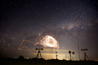Cameron Robbins, 'Anemograph Scorpius Hepburn Wind Farm', 2018