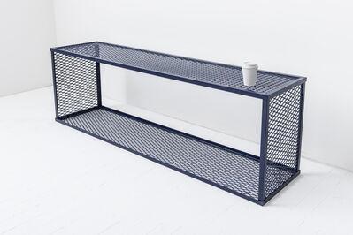 Lea Cetera, 'Blue Bench', 2015