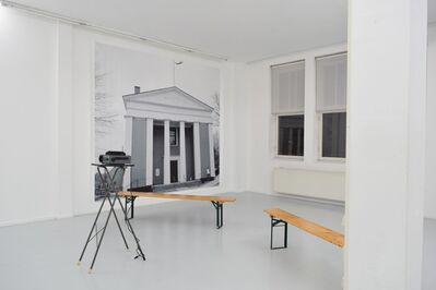 Jeremiah Day, 'The chair remains empty / But the place is set – Meeting Hall, Cape Cod', 2016