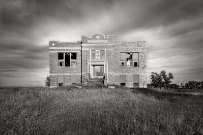 John Custodio, 'Abandoned School, Crystal Springs, North Dakota'