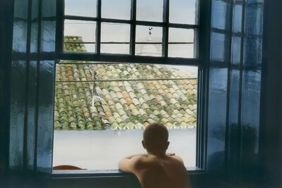 Youssef Nabil, 'Self-portrait looking out of the window, Paraty', 2005