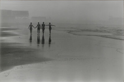 Frank Paulin, 'Morning on the beach, Atlantic City ', 1956