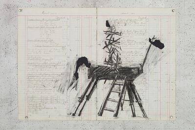William Kentridge, 'Study for Vittorio Emanuele II', 2015