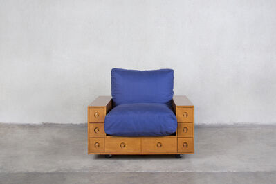 Shiro Kuramata, 'Furniture with Drawers Armchair', 1967