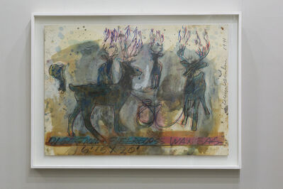 Dennis Oppenheim, 'Digestion. Fiber Wax Glass', 1990