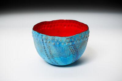 Sarah Perkins, 'Turquoise Caverns Bowl', 2016