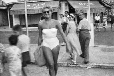Jacques Henri Lartigue, 'Zina Rachewski, Cannes', 1948