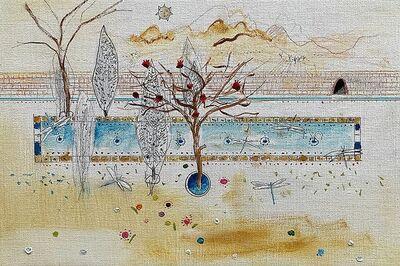Xavier Puigmarti, 'Persian Garden in Winter', 2020