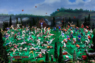 Diana Thorneycroft, 'The Battle of Queenston Heights (War of 1812)', 2013