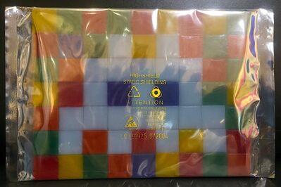 Invader, 'Invasion kit - IK_4 - Rubik space', 2004