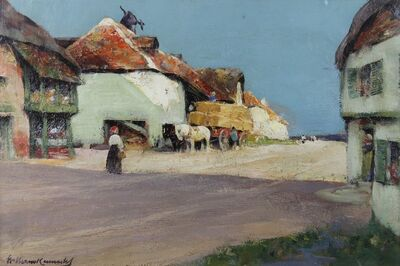 William Kennedy, 'Street in Normandy', ca. 1908