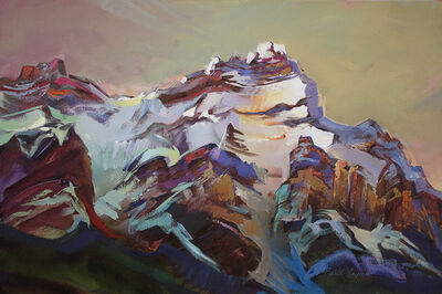 Brent Laycock, 'On Rundle's Cliffs'
