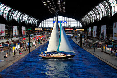 Harry Spitz, 'Sailboat Station', 2020