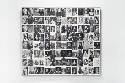 Sandra Gamarra, 'Piezas sueltas en la historia occidental III (retratos)', 2017