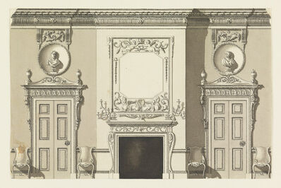 Frederick Crace, 'Wall Elevation', 1815-1822