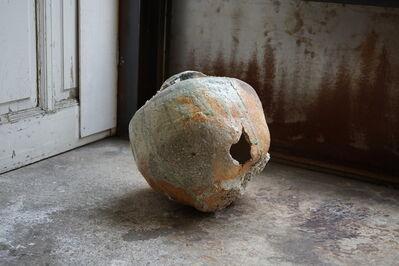 Shiro Tsujimura, '伊賀破れ壺, Iga style broken jar large ', 2000