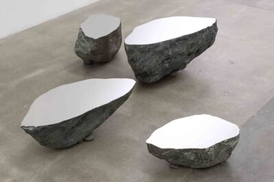 Nobuo Sekine, 'Phase of Nothingness–Cut Stone', 1971/2011