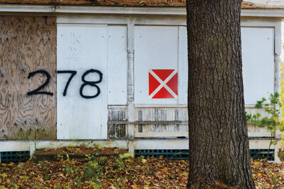 "David Kutz, 'Retro #2980; Northampton, MA USA; October 2013; 42°18'51"" N 72°39'39"" W'"