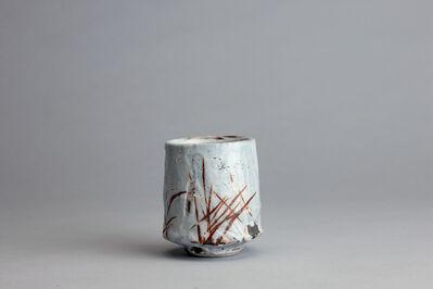 Randy Johnston, 'Yunomi, coarse shino glaze over iron brush decoration', n/a