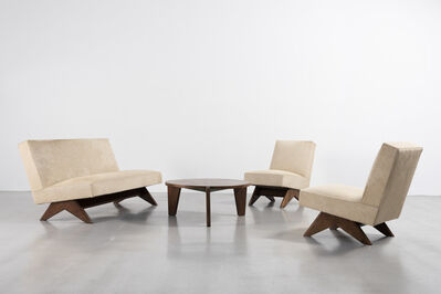 Pierre Jeanneret, 'Sofa set', ca. 1955-56
