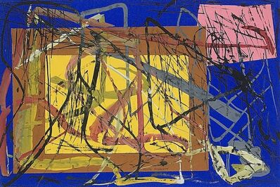 Rolph Scarlett, 'Untitled Mixed Media Collage', ca. 1955