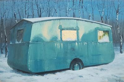 Andrew McIntosh (Mackie), 'Caravan near Aviemore', 2020
