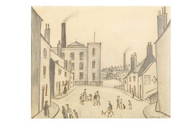 Laurence Stephen Lowry, 'Northern Townscape'