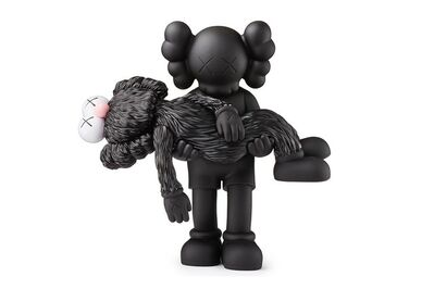 KAWS, 'GONE COMPANION BLACK AND BFF BLACK', 2019
