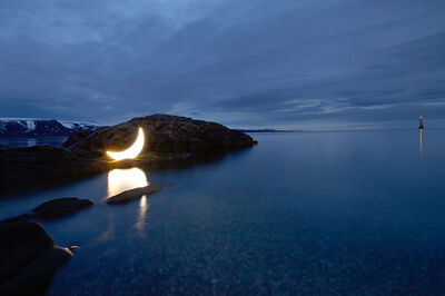Leonid Tishkov, 'Private Moon in the Arctic', 2010