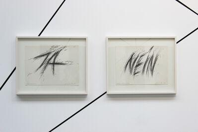 Gerhard Rühm, 'Raserei ( JA / NEIN)', 1976