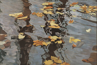 Ralph Wickiser, 'Leaves On The Water', 1983