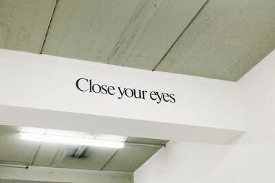 Haim Steinbach, 'Close your Eyes', 2003-2015