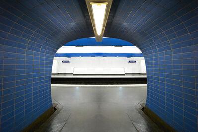 Laurie Victor Kay, 'Metro Bleu III'