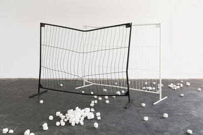 Simon Wachsmuth, 'Barricade (from the set of works 'Demonstration')', 2008