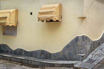 "David Kutz, 'Retro #a0927; Kallirachi, Thasos, Greece; June 2015; 40°41'32"" N 24°33'18"" E'"